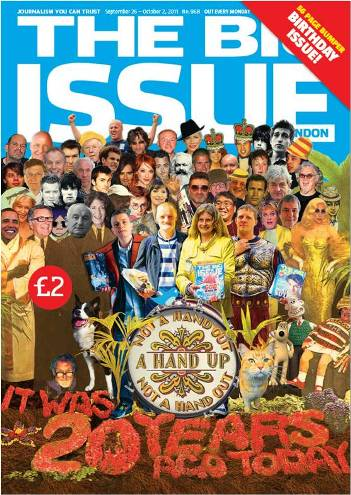 Happy Birthday to The Big Issue