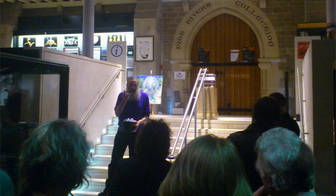 The Vorrh Launch at Pitt Rivers Museum
