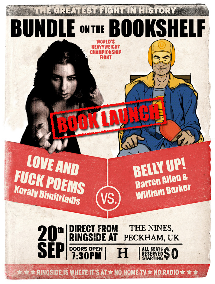 Love and Fuck & Belly Up book launch
